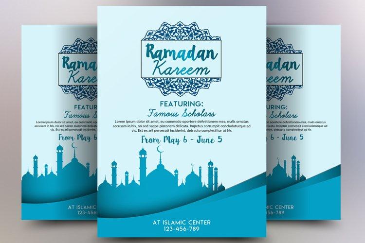 Ramdan Kareem Flyer Template