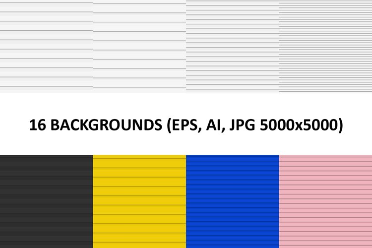 16 Cutout Stripe Backgrounds AI, EPS, JPG 5000x5000