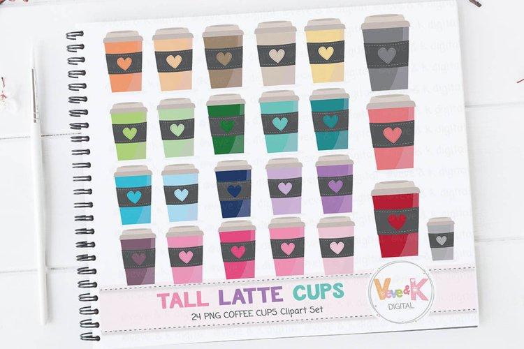 Coffee Clipart, Travel Mug Clipart, Latte Mug Clipart, Tea clipart, Mug Clipart, Coffee Cups Clipart, Coffee Addict Clipart