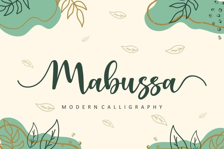 Mabussa example image 1