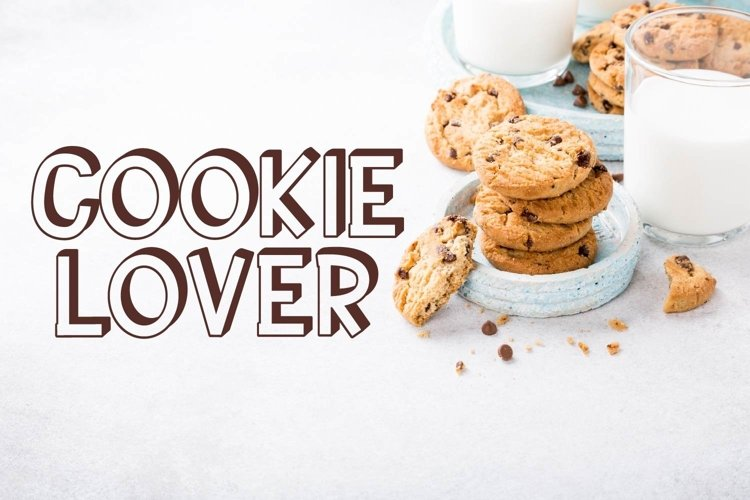 Web Font Cookie Lover example image 1