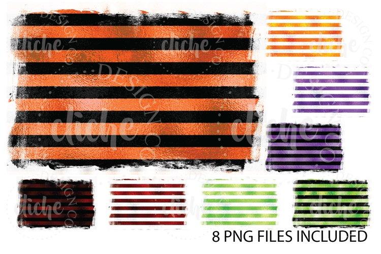 Halloween Foil Sublimation Design Background Bundle Set