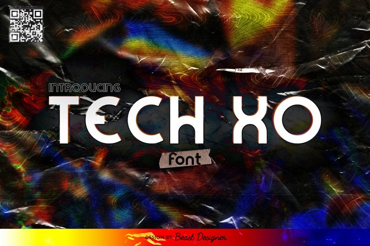 Tech XO - Future Space Sci-fi Font