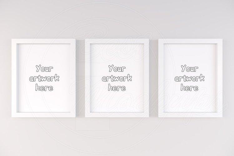 Three basic frame mockup 11x14 inch example image 1