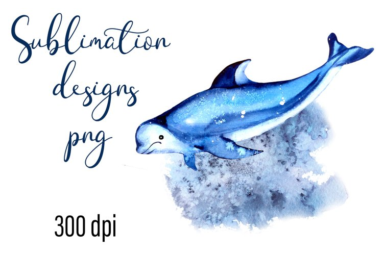 Residents of deep water Sea Sublimation Png example image 1