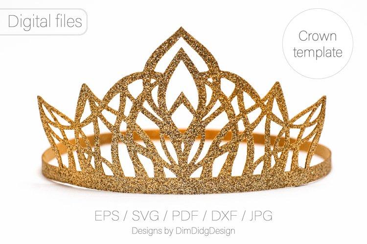 Princess crown svg Birthday party crown Princess tiara