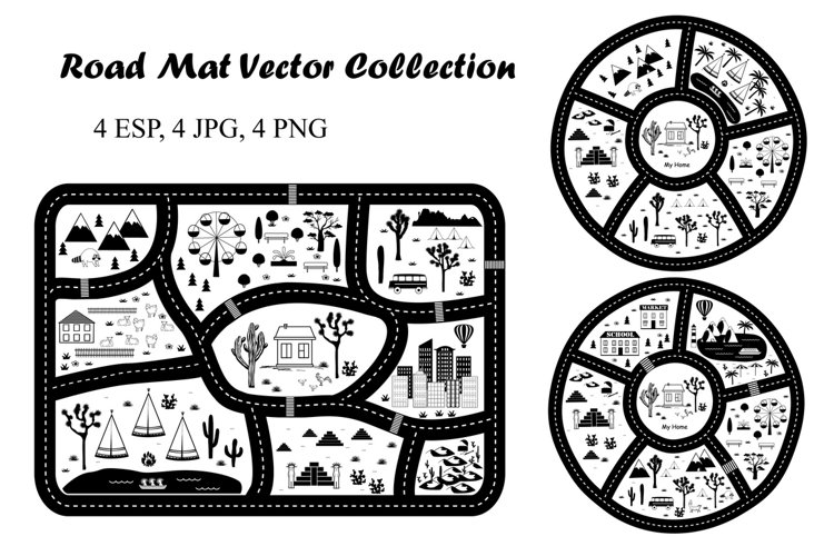 Road Play Mat Collection example image 1
