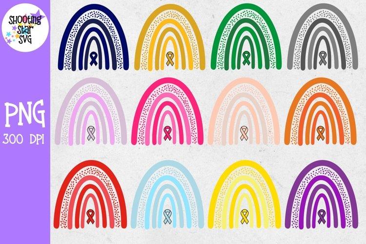 Rainbow Sublimation - Awareness Ribbon Rainbow Big Bundle