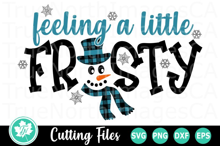 Feeling a Little Frosty - A Christmas SVG Cut File example image 1