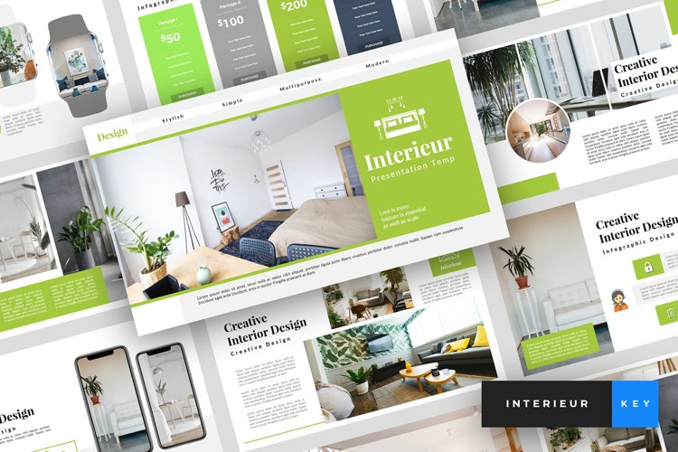 Interieur - Interior Design Keynote Template example image 1