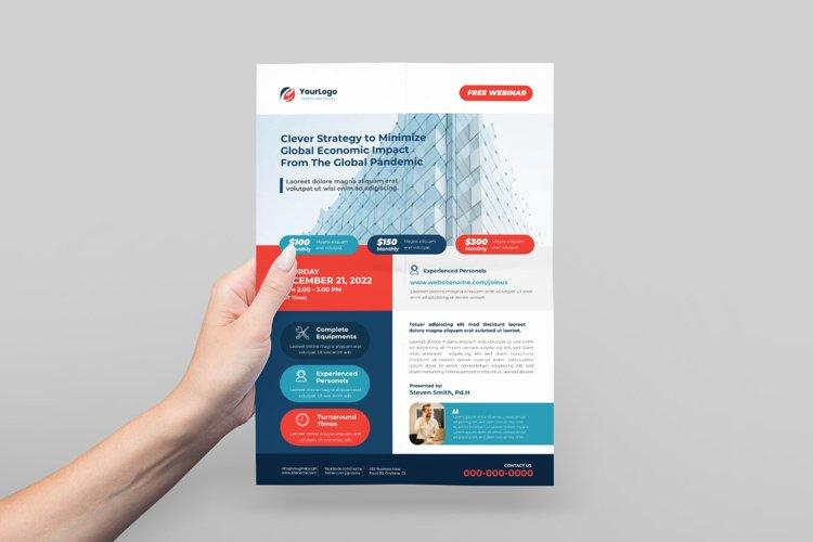 Webinar / Online Class Flyer Design