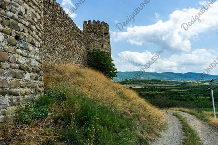 Ruins of medieval Chailuri castle example image 1