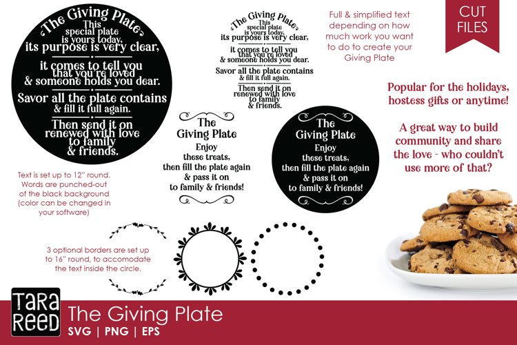 The Giving Plate Bundle example image 1