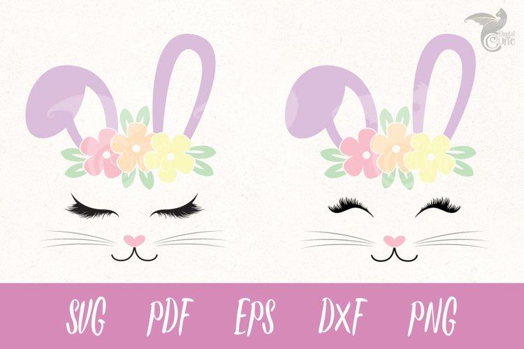 Bunny Face Face Cut Files