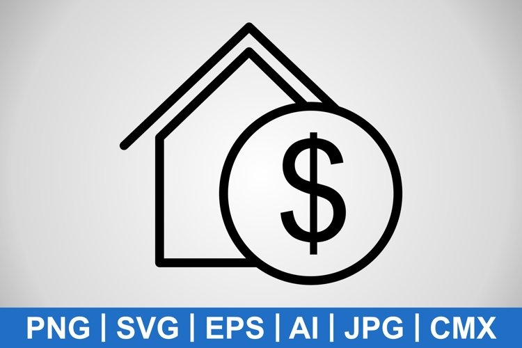 Vector Real Estate Icon example image 1