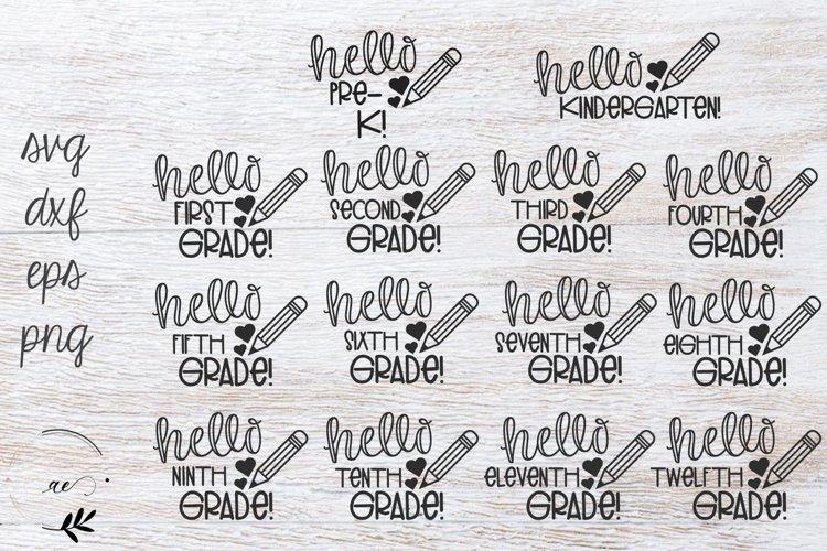 Back to School SVG Bundle example image 1