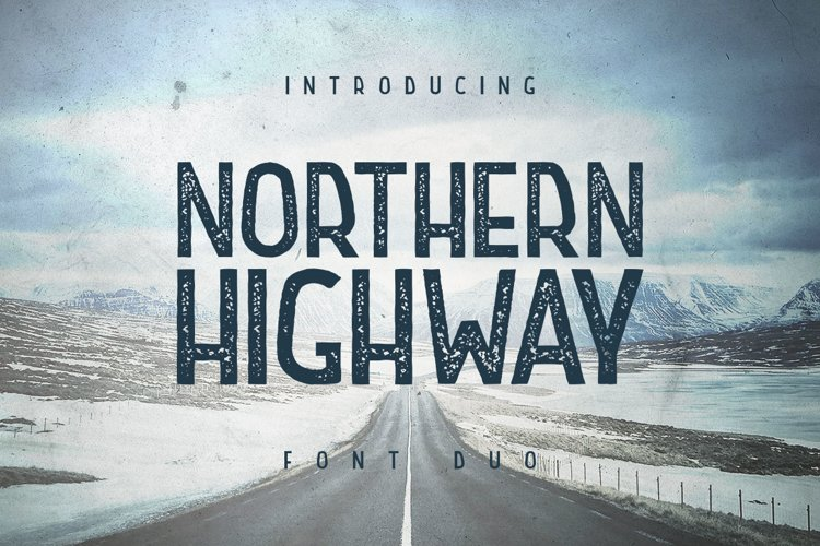 Northern Highway - Font Duo example image 1