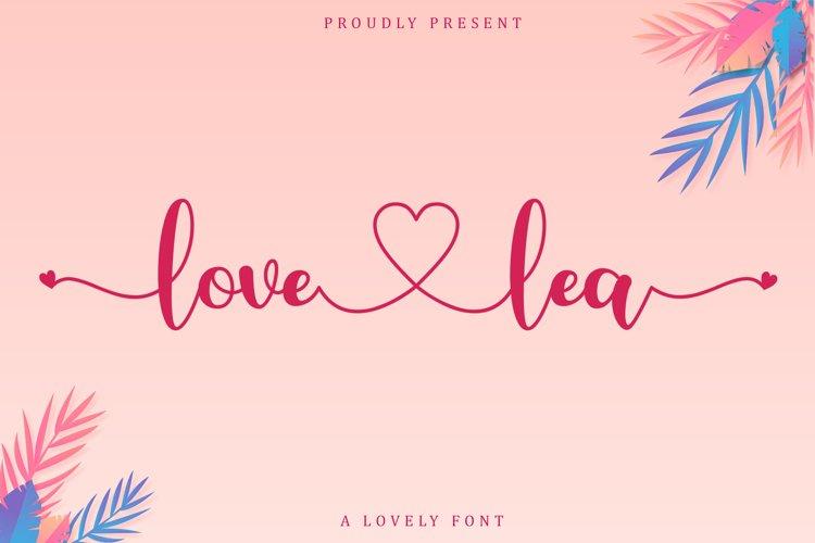 Love Lea example image 1