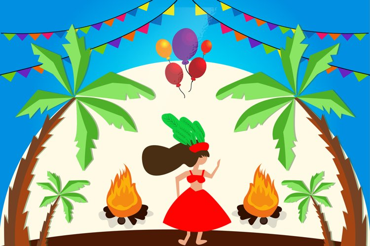 Brazilian Carnival Illustration example image 1