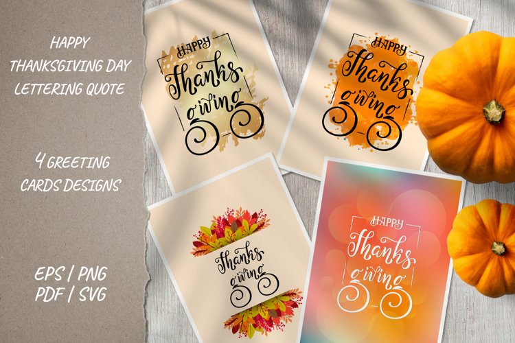 Happy Thanksgiving vertical sign greeting cards Fall designs