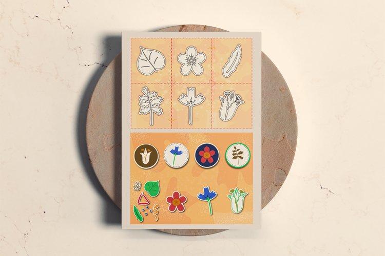 Summer meadow - Stickers