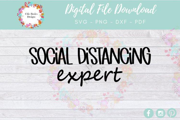 Social Distancing Expert Digital File Download