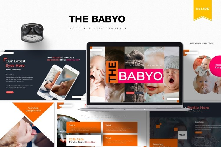 The Babyo | Powerpoint, Keynote, Google Slides Template example image 1