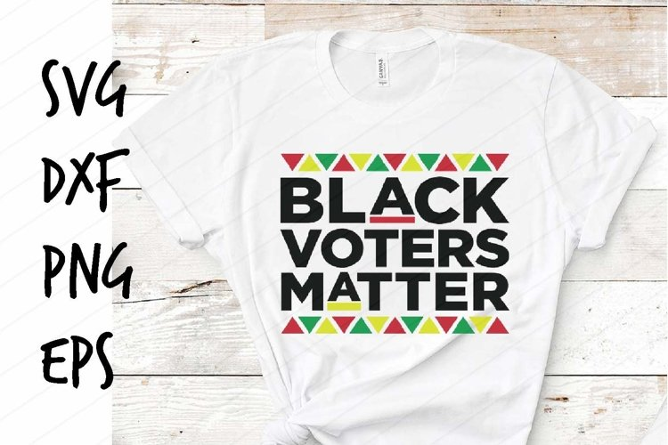 Black Voters Matter SVG