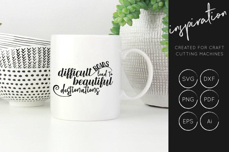 Inspirational Quotes SVG Cut File Bundle - Design Collection - Free Design of The Week Design10