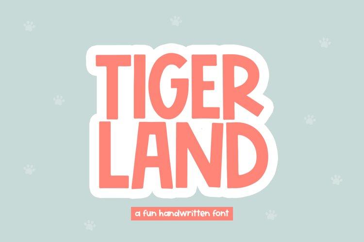 Tigerland - A Fun Handwritten Font example image 1