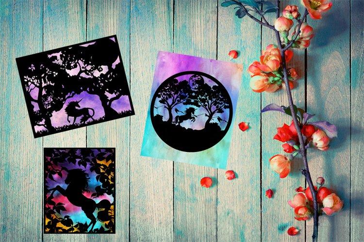 Unicorn Paper Cut Bundle, Unicorn SVG, Unicorn Sublimation