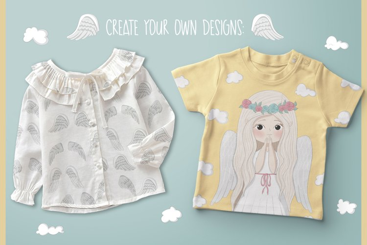 Little angels clipart - Free Design of The Week Design0