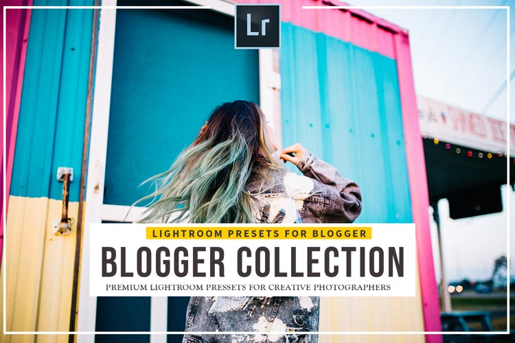 25 Pro Blogger Presets lightroom example image 1