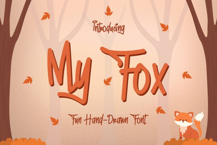 My Fox - Fun and Playful Font example image 1