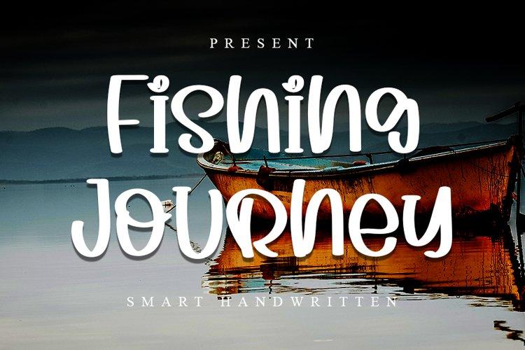 Fishing Journey - Smart Handwritten Font example image 1