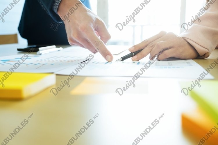 Business concept. Business people discussing. example image 1