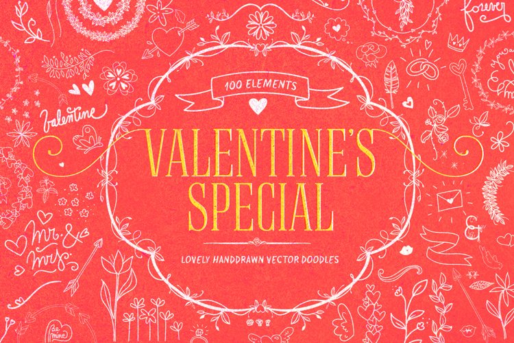 Valentines Special Vector Objects