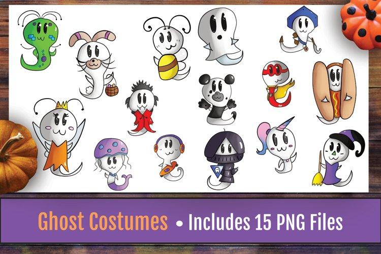 Halloween Clipart| Halloween | Cute Halloween | Costume example image 1