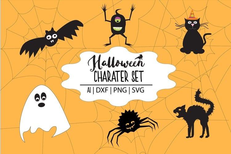 Halloween Characters example image 1