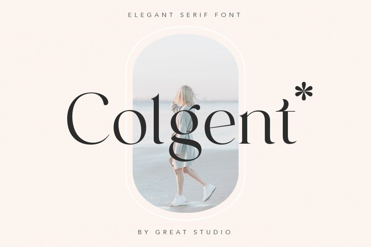 Colgent | Modern Serif Typeface