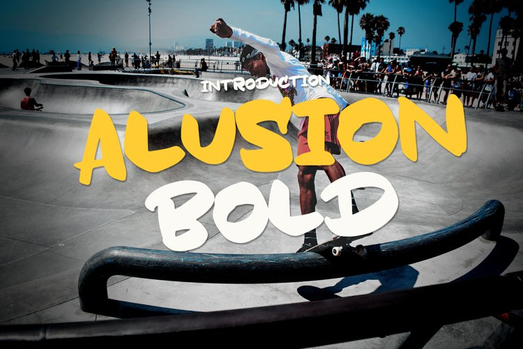 Alusion Bold example image 1