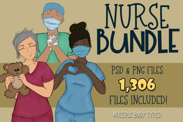Nurse Builder Bundle| Xray tech| NICU | Dental | Wash Hands example image 1