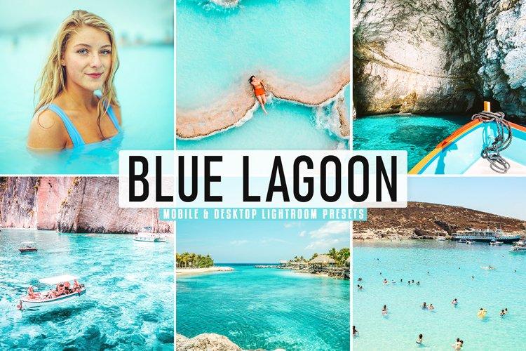Blue Lagoon Mobile & Desktop Lightroom Presets example image 1