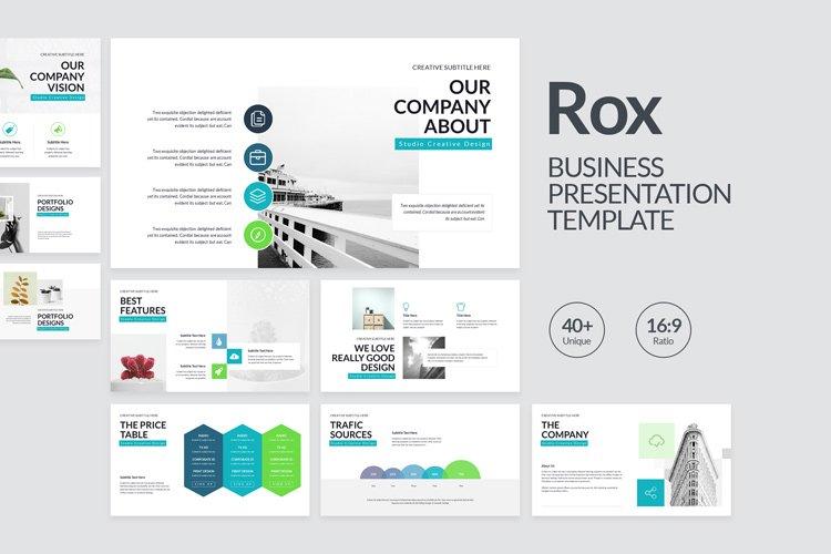 Rox Business Keynote Presentation Template