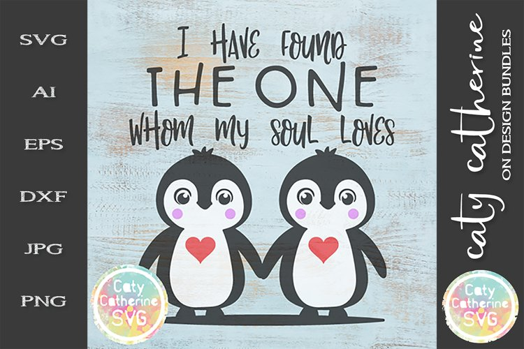 I Have Found The One Whom My Soul Loves Song Of Solomon SVG example image 1