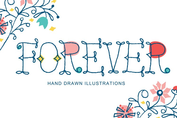 Forever Clip Art and Vector Art example image 1