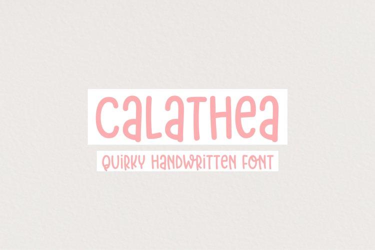 Calathea example image 1