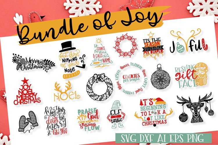 Bundle Of Joy - Christmas SVG Bundle  example image 1
