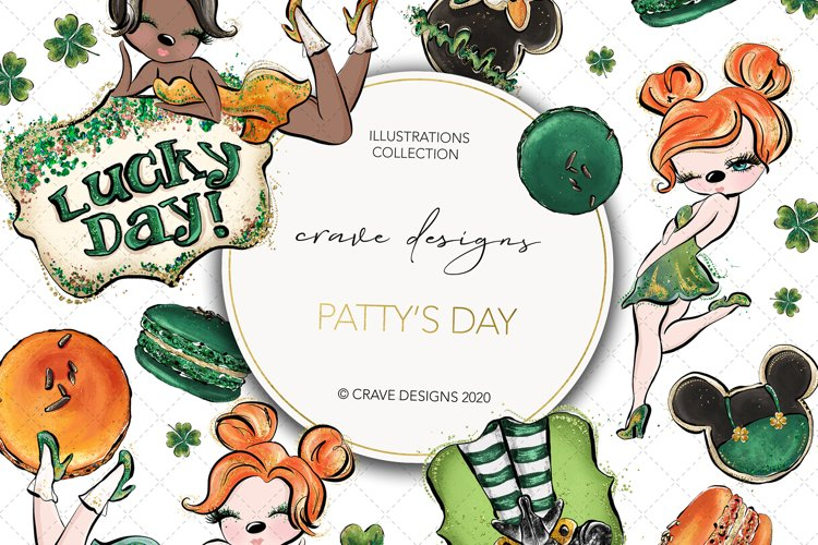 Patty's Day Clip Art example image 1