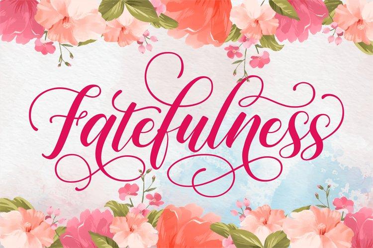 Fatefulness example image 1